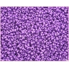 Seedbead Metallic Purple 10/0